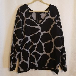 Lane Bryant | Animal Print Sweater